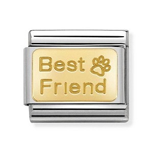 Engraved, Best friend mit Fussabdruck