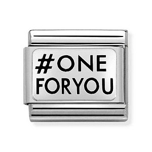 OXidized Plate, # ONE FOR YOU