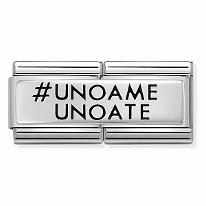 Double Engraved, # UNO A ME UNO A TE