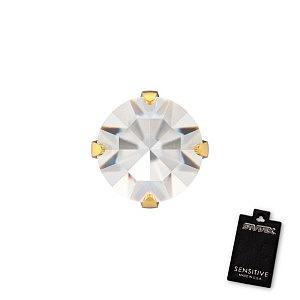 Tiffany Kristall, vergoldet, 5 mm