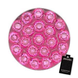 Disc Rosé, weiss, 8 mm
