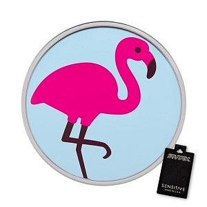 Flamingo, weiss, 8 mm