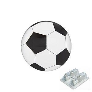 Fussball, weiss, 5 mm