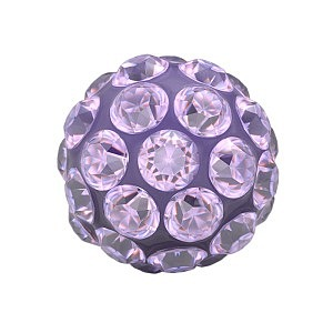Fireball Tanzanite, weiss, 4.5 mm