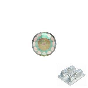 Kugel Kristall irisierend, weiss, 4 mm