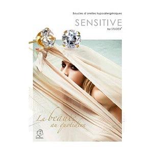 Sensitive, Kunden-Flyer A6, Französisch, 50 Stück