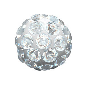 Fireball Kristall, weiss, 4.5 mm